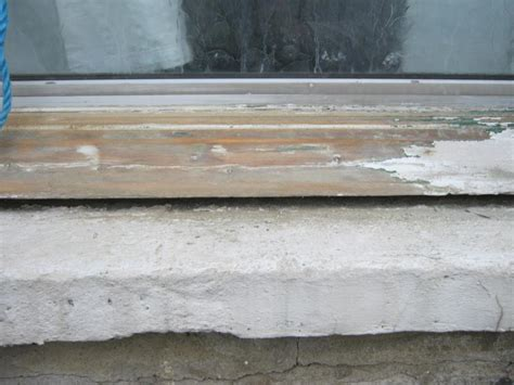 Window Sill Filler by Window With Gap Sill Diynot Forums
