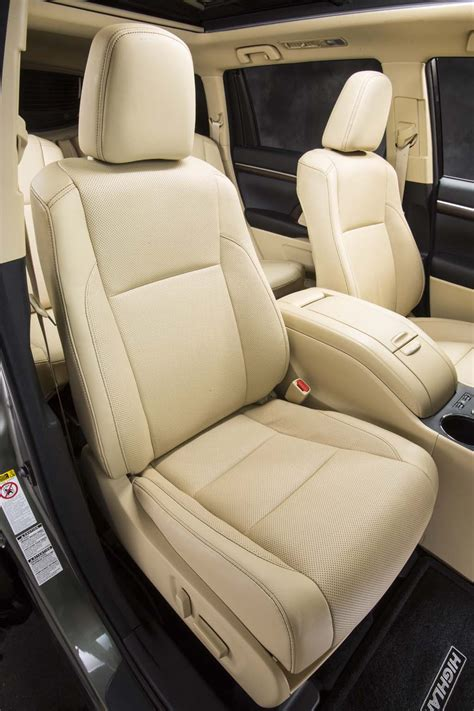 2015 toyota highlander captains chairs autos post
