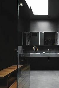 quelle couleur salle de bain choisir 52 astuces en photos With gris anthracite avec quelle couleur 8 salle de bain murs gris sol beton gris anthracite meuble