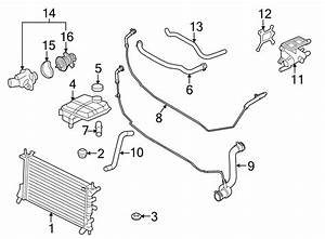 Ford Focus Engine Coolant Thermostat Kit  Hybrid  Liter