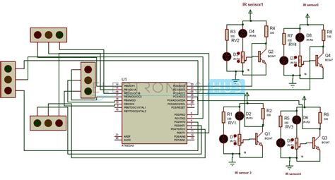 traffic light controller density based traffic signal system using microcontroller