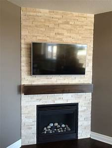 Corner Fireplace Designs With Shelves - WoodWorking
