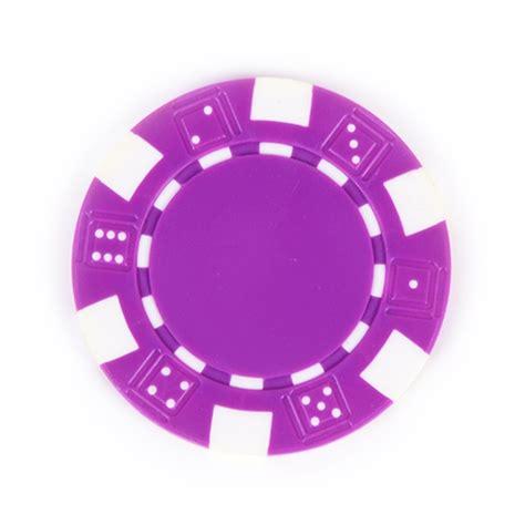 Purple Composite 115g Poker Chip  Apex Digital Flatbed