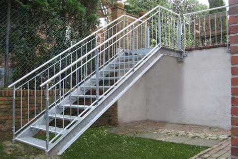 Außentreppe Aus Stahl by Treppen Gawron Co