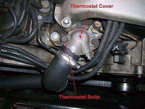 change  cars thermostat   runs