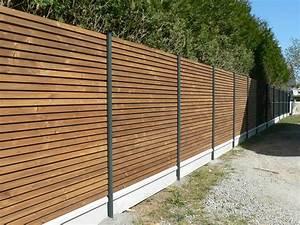 Cloture De Jardin : clotures en bois pour jardin meilleures images d ~ Premium-room.com Idées de Décoration
