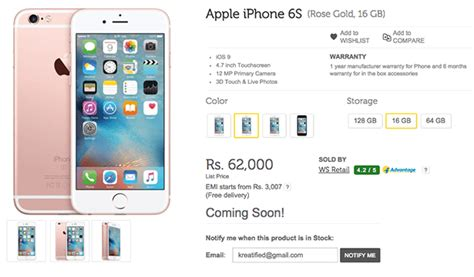 iphone 6 india price apple iphone 6s price in india is rs 25k on flipkart
