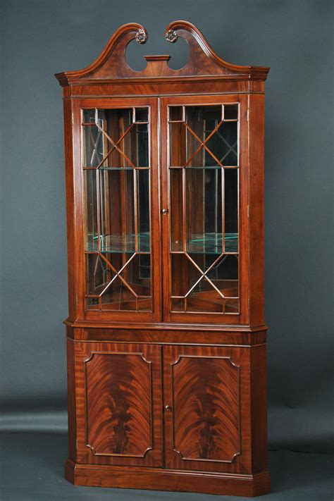 corner china cabinet mahogany corner china cabinet corner hutch corner curio