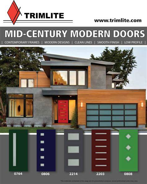 Mid Century Modern Doors   Trimlite