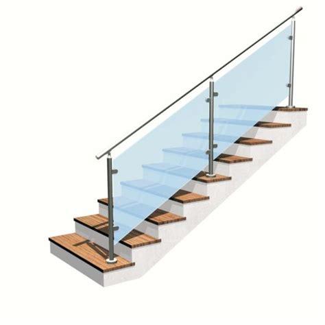 corrimano in vetro per scale richiedi un preventivo gratuito per realizzare la tua