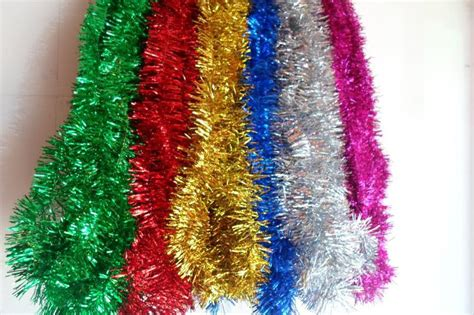 New Christmas Tree Tinsel 2 Meters Long Party New Year Christmas Gift Tag Template Website Ideas For Anyone M&m Gifts Unique Corporate Technology Nuts Best Employees