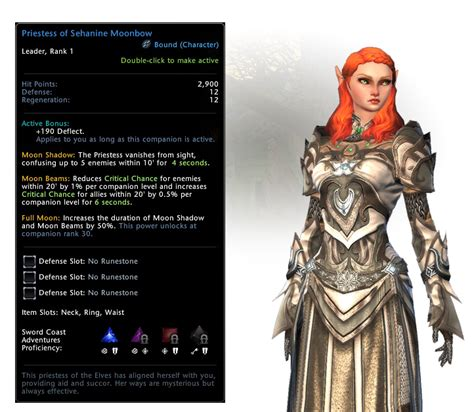 neverwinter sehanine moonbow priestess drake companion guard champion brave mount mighty awesomeness packs items prepare pick fight yourself sure amazing