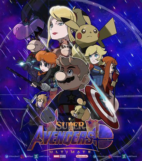 Super Avengers Nintendo Super Smash Bros Super Smash