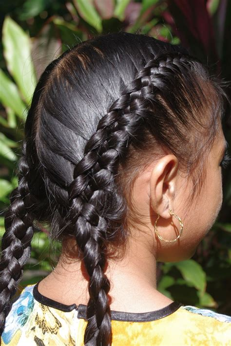 french braids  weave hairstylegalleriescom