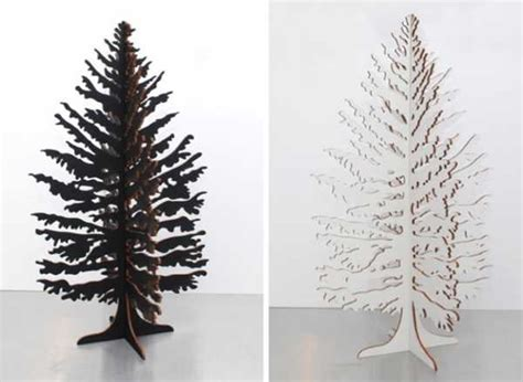 alternative christmas tree design ideas recycling paper