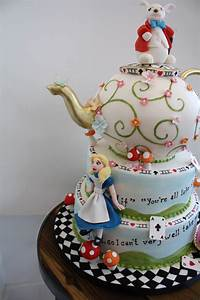 "Alice In Wonderland - ""Mad Hatter Tea Party"" bridal shower ..."