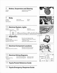 Table Of Contents - Toyota Prius Repair And Maintenance Manual  2004-2008