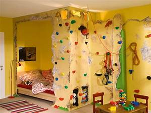 Kinderzimmer Ideen Zum Selbermachen : kinderbett mit kletterwand selber machen heimwerkermagazin ~ Lizthompson.info Haus und Dekorationen