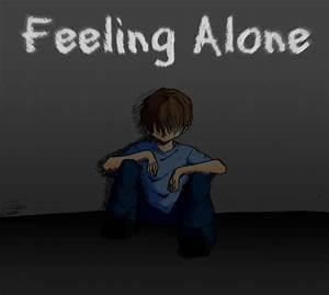 Feeling Alone by Animefan2017 on DeviantArt