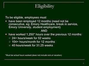 Mla Requirements Fmla Employee Training V 4 Revised 02 11 09