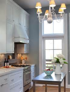 Backsplash With White Cabinets And Gray Walls by Kitchens White Kitchen Cabinets Marble Countertops Gray