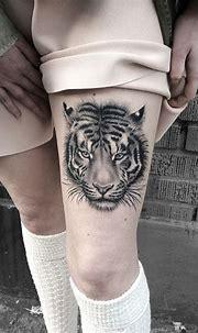 IMG_9413.JPG | Tiger tattoo, Tiger tattoo thigh, Animal tattoo