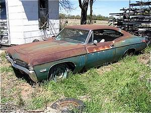 Barn Find  A Running 1968 Chevy Impala Ss427