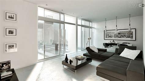 white livingroom brown white living room