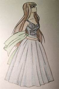 Prom Dress Drawing - sillemillelove © 2018 - Jan 10, 2013