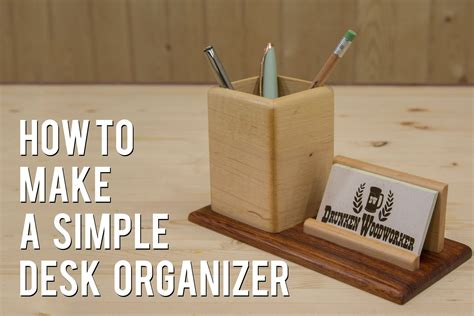 pencil business card holder woodworking