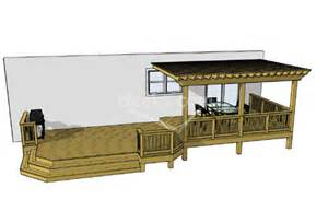 Deck and Pergola Idea