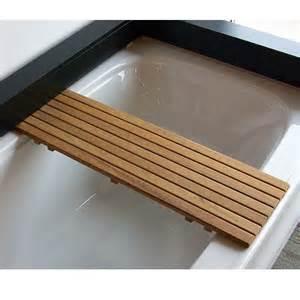 Adjustable Teak Bathtub Seat Teakworks4u