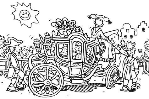 Kleurplaat Bevrijdingsdag by Het Sprookje De Prins Die Een Prinses Zocht Het