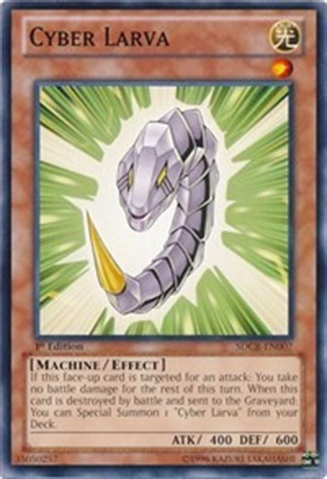 cyber larva structure deck cyber dragon revolution