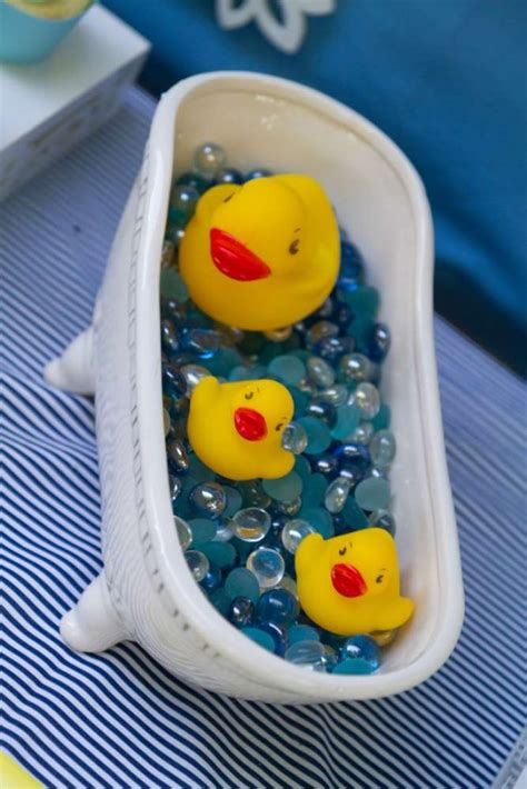 Sweet Rubber Ducky Shower  Baby Shower Ideas  Themes Games