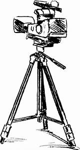Video camera #4 (Objects) – Printable coloring pages