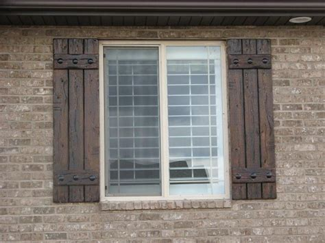 eric wants quot rustic shutters quot like these by rusticshutters