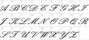Image Gallery old english cursive letters