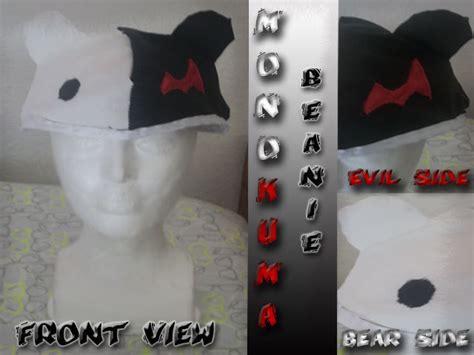 monokuma cosplay beanie  character hat sewing  cut