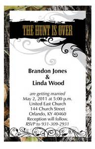 camo wedding invitations 50 mossy camo quot the hunt is quot wedding invitations envelopes