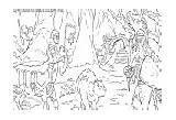 Narnia Coloring Pages Printable sketch template