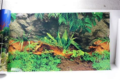 poster de fond aquarium 50cm h glossy aquarium background poster fish tank one side coral rock landscape poster wall