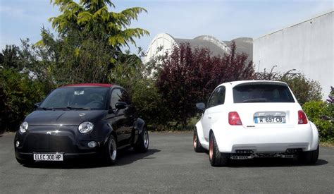 Who Makes Fiat 500 by Atomik Makes Electric Supercar Out Of Fiat Abarth 500