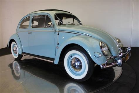 Volkswagen Beetle Baby Blue With 7742 Miles, For Sale! For