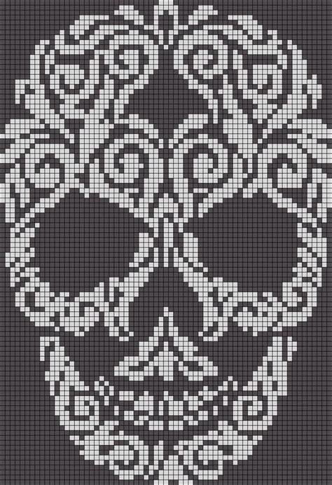 Monster High Skull Crochet Patterns