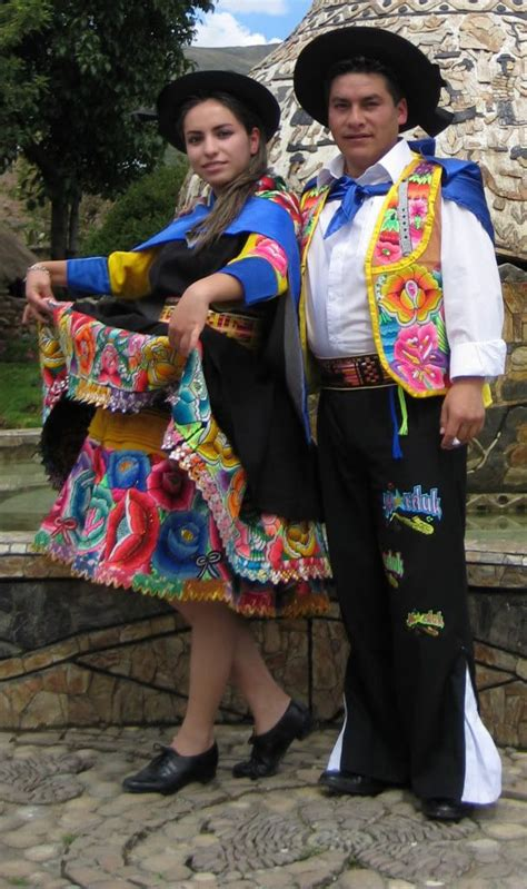 trajes tipicos peru traditional peruvian dresses huayno de junin huaylarsh trajes