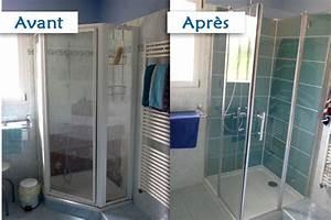 Panneaux D Habillage Pour Rénover Sa Salle De Bains : as plomberie r nover sa douche ~ Melissatoandfro.com Idées de Décoration