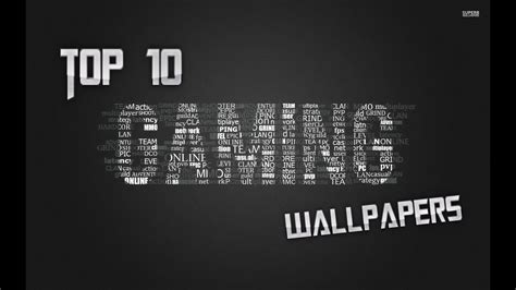 Top 10 Gaming Wallpapers Youtube