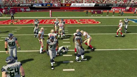 madden nfl  ps seahawks  ers youtube