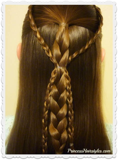 Easy Princess Hairstyles For by Hairstyles For Princess Hairstyles